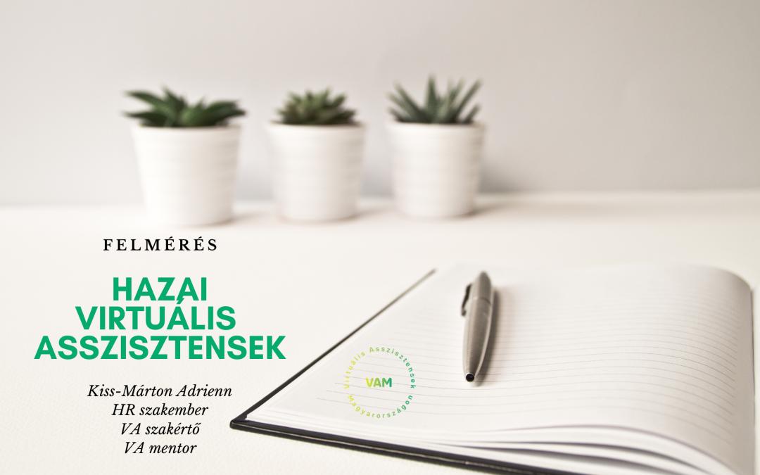 Virtuális Asszisztensek Magyarországon – felmérések eredményei 2017-től napjainkig